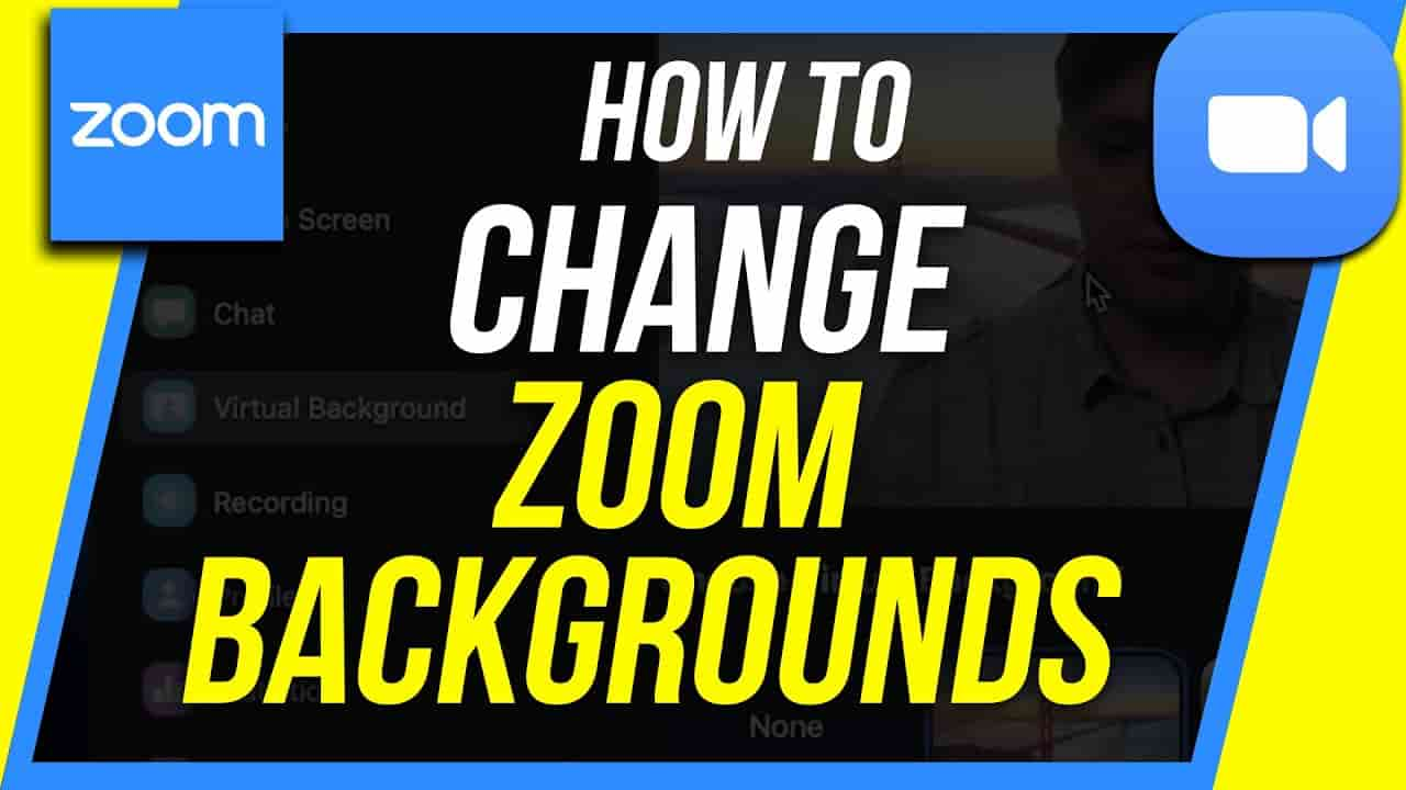 change background on zoom